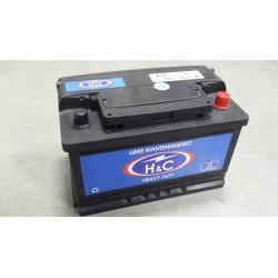 Batería H&C 12 v. 70 Ah 640 A