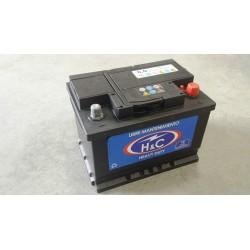 Batería H&C 12 v. 60 Ah 460 A