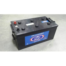 Batería H&C 12 v. 210 Ah 1200 A