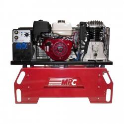 Moto-compresor con generador y módulo de soldadura THUNDER 130/5EM + MOTO