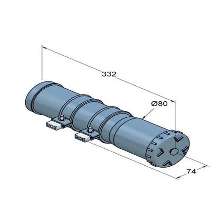 Portadocumentos de PVC redondo