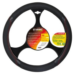 Funda de volante GT-Sport negro-rojo