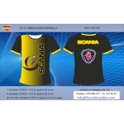 Camiseta técnica Scania 003