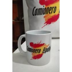 Taza de desayuno Camionero Español