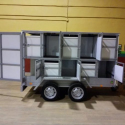 Rehala aluminio 24 compartimentos