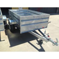 Remolque galvanizado caja abierta