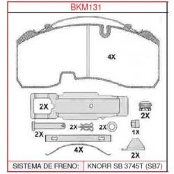 Pastillas de freno Brakerman BKM131