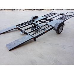 Plataforma basculante portavehículos