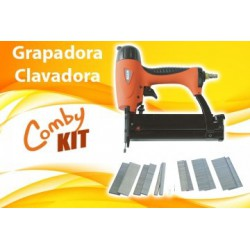 Grapadora-Clavadora Comby Kit RevolutionAir