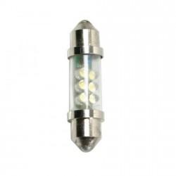 Lámpara 24 v. blanca 6 leds SILURO