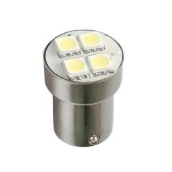 Lámpara 24 v. blanca 4SMD