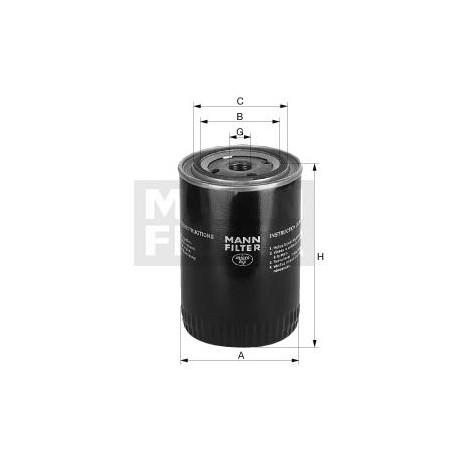 Filtro de agua refrigerante MANN WA940/9