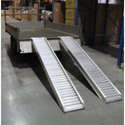 Rampas de aluminio montacargas