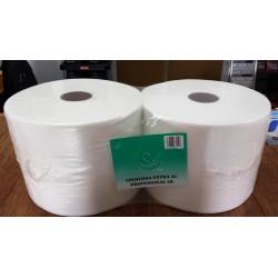 Pack 2 bobinas de papel 3 kg. celulosa extra 2 capas